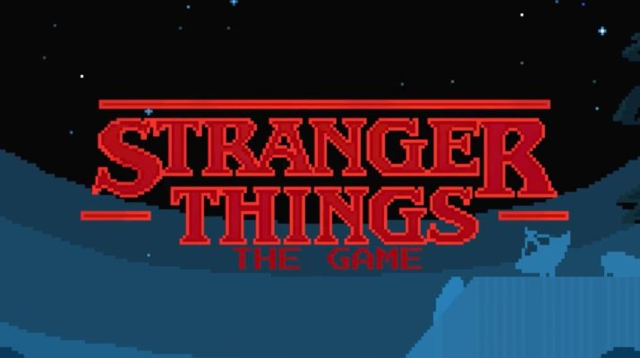Video juego de Stranger things