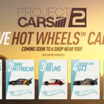 5 de los Autos de Project Cars 2 se materializarán en versiones de Hot Wheels