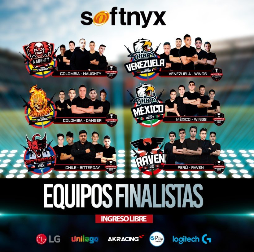 Finalistas Operation 7 Latinoamérica