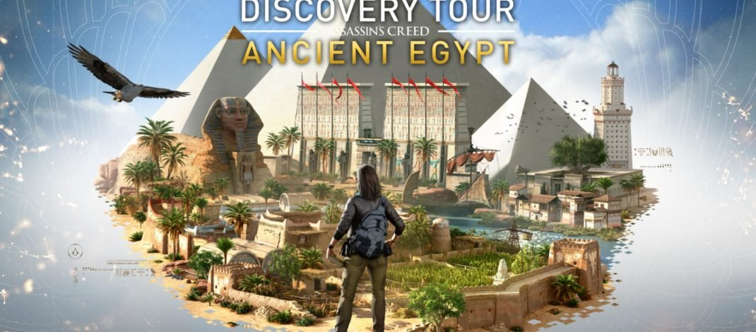 Viaja y aprende sobre el antiguo Egipto con el Discovery Tour: Ancient Egypt de Assasin's Creed Origins