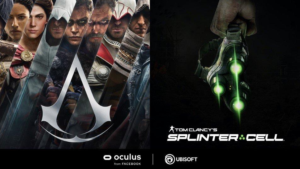 Ubiosoft anuncia juegos VR de Assassins Creed y Tom Clancy´s Splinter Cell  junto con Oculus - PortalGeek